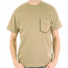 Sand Coloured Short Sleeve T Shirt
