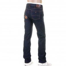 Classic Wash Regular Fit Button Fly Regular Waist Denim Jeans