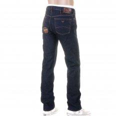 Classic Wash Regular Fit Button Fly Regular Waist Denim Jeans