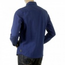 ARMANI JEANS Dark blue long sleeve shirt