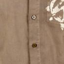 ARMANI JEANS Dark Putty long sleeve shirt