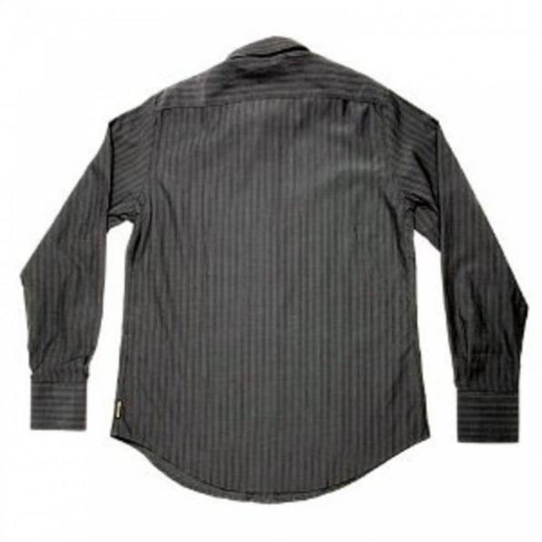 ARMANI JEANS Grey Button Down Collar Regular Fit Long Sleeve Shirt