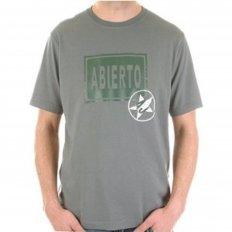 Grey Crew Neck Regular Fit Short Sleeve T-Shirt