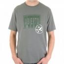 ARMANI JEANS Grey Crew Neck Regular Fit Short Sleeve T-Shirt