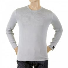 Grey Long Sleeve Slim Fitting Knitwear Jumper