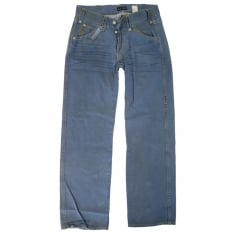 Limited Edition blue denim jeans