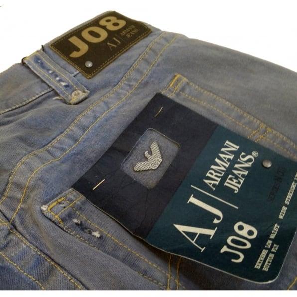ARMANI JEANS Limited Edition blue denim jeans