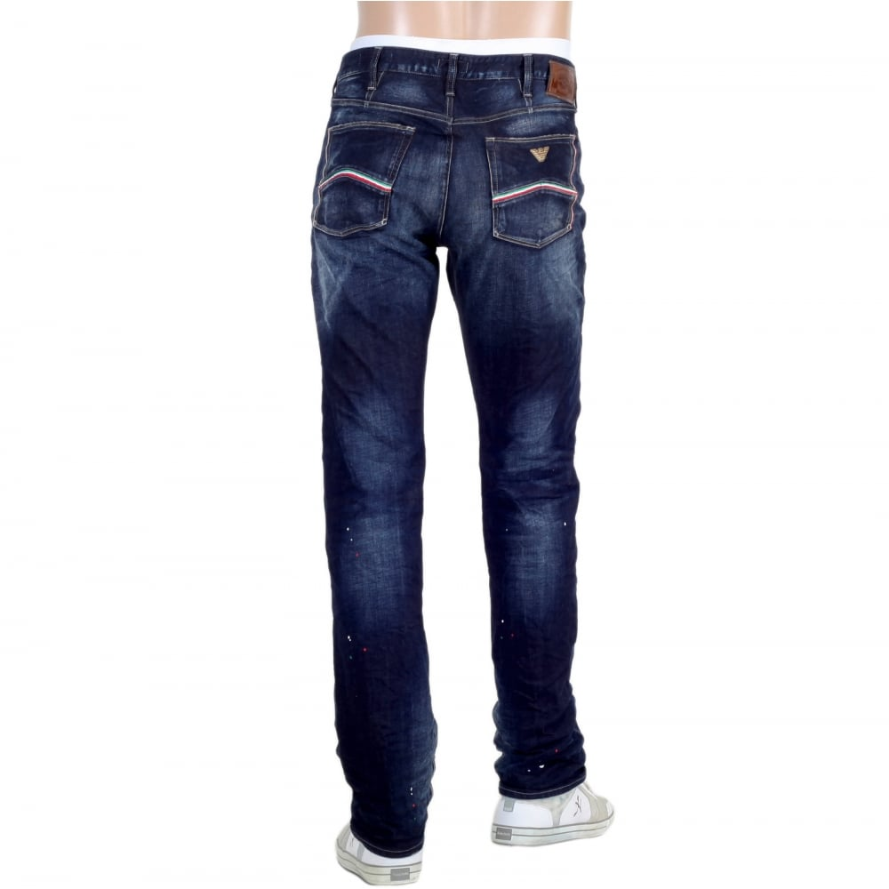 Dsquared2 Men/'s Black Slim Fit Casual Stretchy Jeans Made in Italy