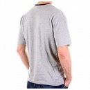 ARMANI JEANS Marl Grey Regular Fit Ribbed Crew Neck Short Sleeve T-Shirt