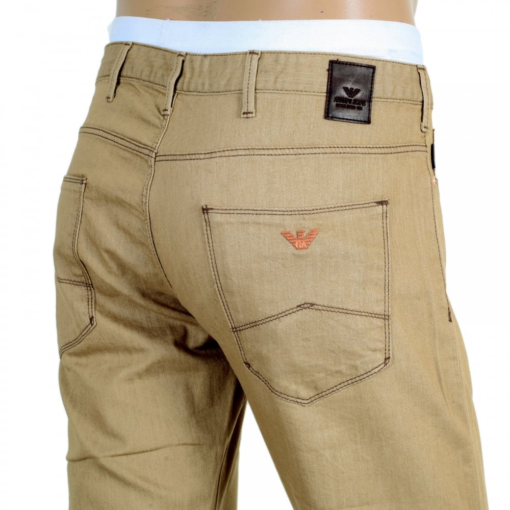 Buy Extra Slim Fit Beige Jeans for Men at Niro Fashion