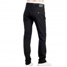 Mens Regular Waist Tight Leg Comfort Stretch Trousers