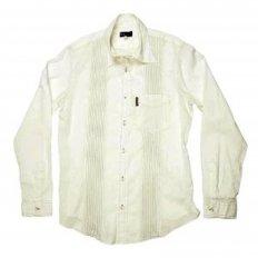 Off White Regular Fit Long Sleeve Shirt