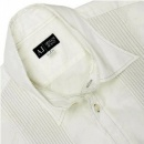 ARMANI JEANS Off White Regular Fit Long Sleeve Shirt
