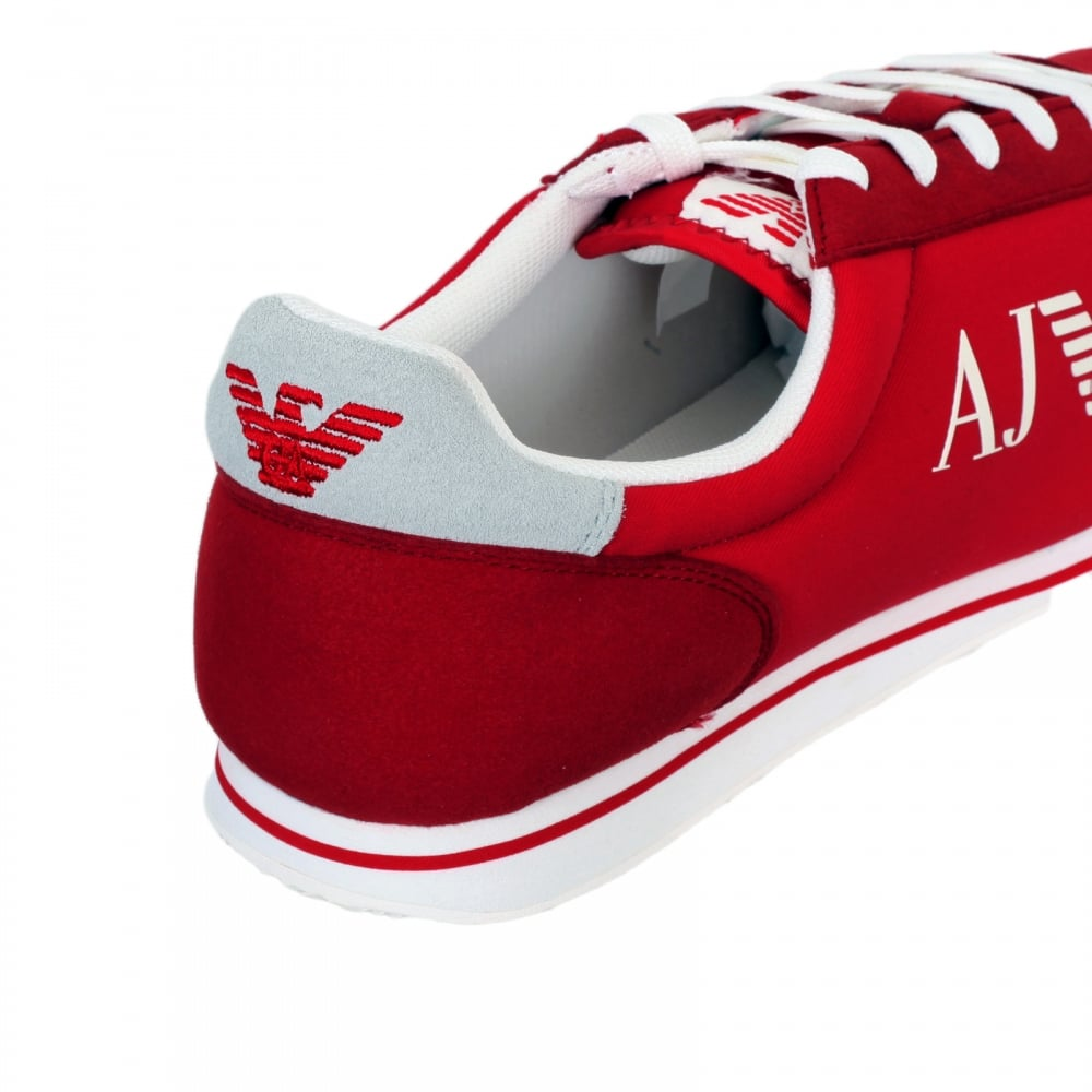Outlet 100% Authentic Ost Release Dates low-top sneakers - Red Armani Popular Cheap Online Free Shipping Very Cheap Buy Cheap Wide Range Of QqO6qzn