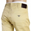 ARMANI JEANS Regular Fit Regular Waist Button Fly Biscuit Coloured Jeans