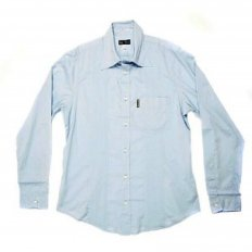 Sky Blue Regular Fit Long Sleeve Shirt