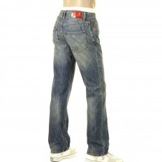 Special Edition Enzyme Wash Extra Slim Fit Low Waist Denim Jeans