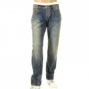 ARMANI JEANS Special Edition Enzyme Wash Extra Slim Fit Low Waist Denim Jeans