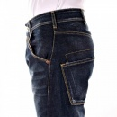 ARMANI JEANS Stonewash Relaxed Straight Leg Regular Waist Denim Jeans