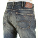 ARMANI JEANS Stonewashed Regular Fit Vintage Denim Jeans