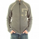 ARMANI JEANS Taupe Long Sleeve Regular Fit Two Way Zipped Sweatshirt