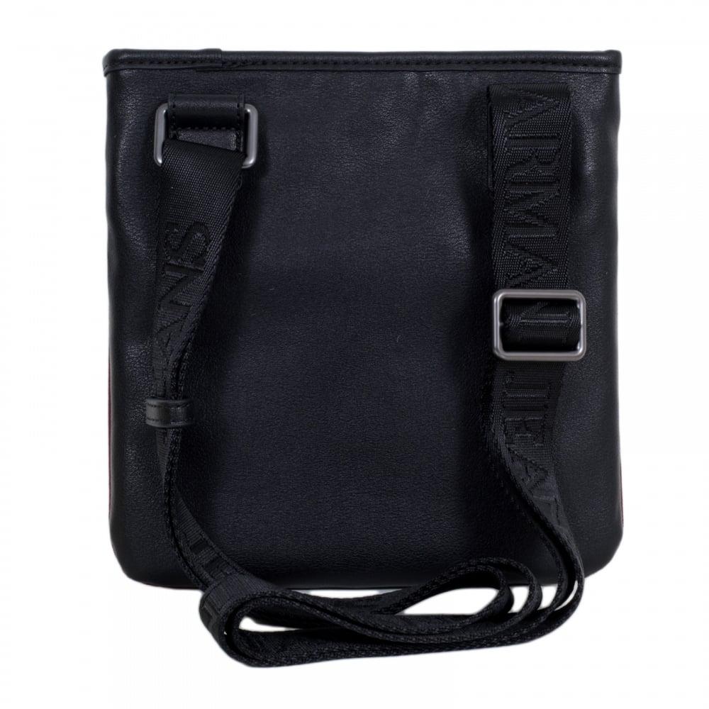 5fe2eedf21 ... design 16b9d 93e1f Armani jeans text logo bordeaux and black bag for men  with top  big sale 06aa1 b891a armani Men Sports bag PVC meVlN8Rx Men Bags  ...
