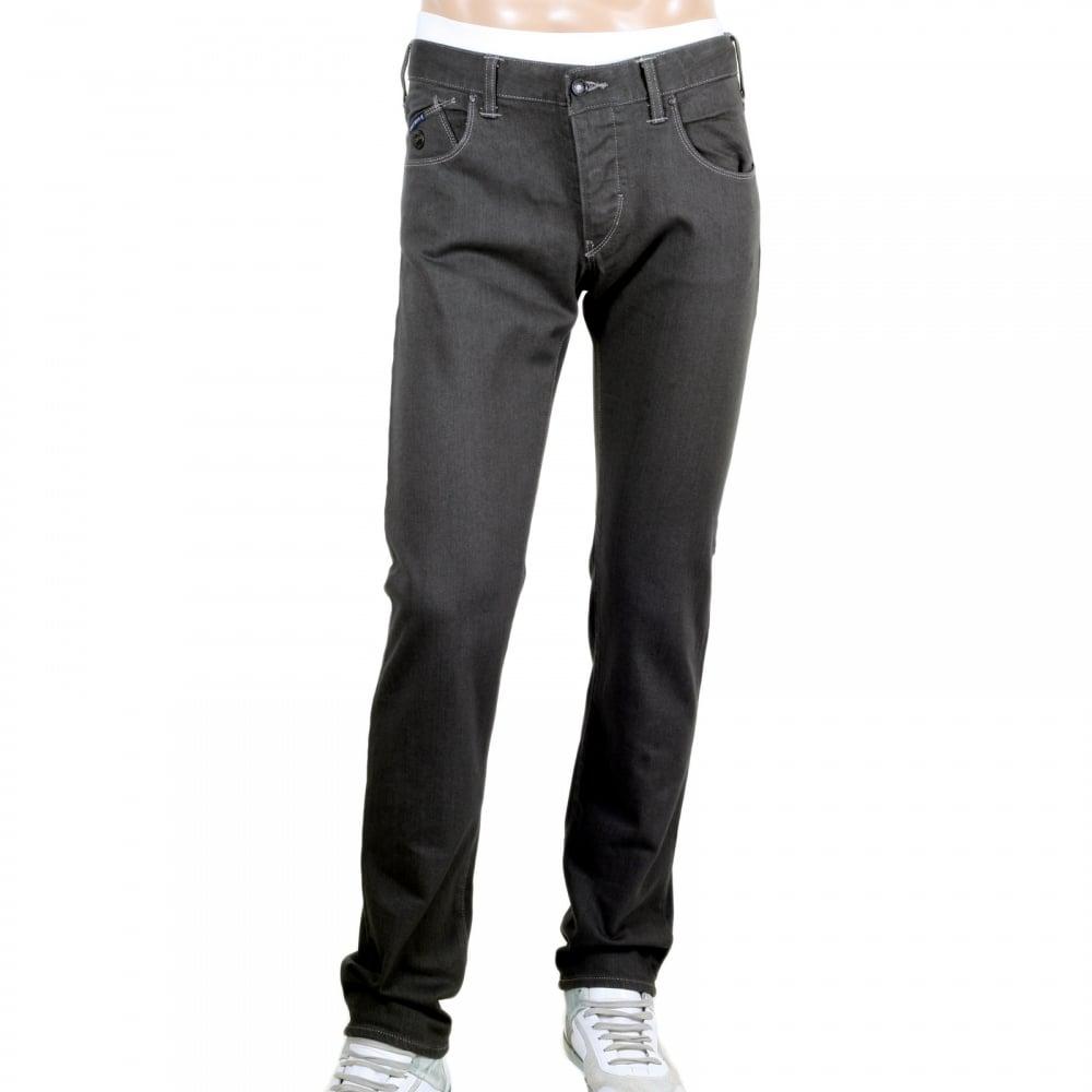 low rise slim fit grey jeans for menarmani jeans uk