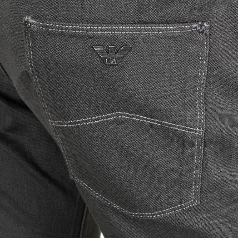 Low Rise Slim Fit Grey Jeans for Men by Armani Jeans UK