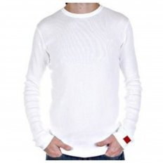 White Fitted mens Designer Knitwear