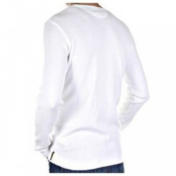 ARMANI JEANS White Fitted mens Designer Knitwear