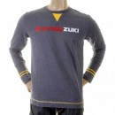 EVISU Authentic Rare EVISUZUKI T shirt in Ink Blue