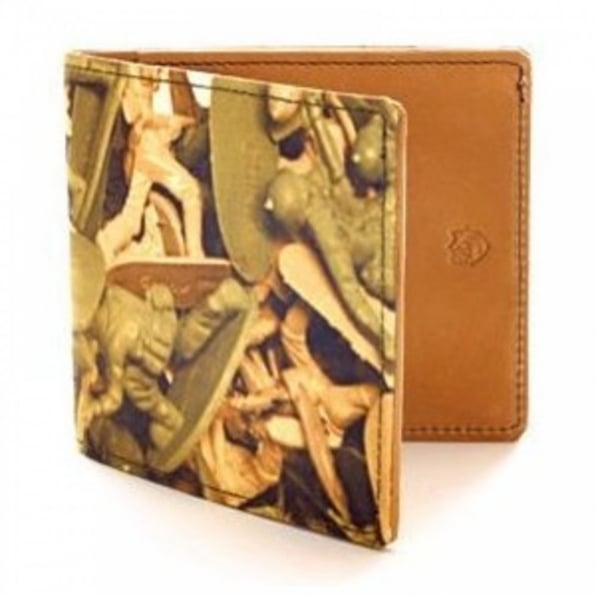 BANGERS AND MASH Mens Credit Card Wallet with Coin Pocket