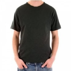 Duffer Short Sleeve t shirt in Black