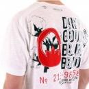 BLUE BLOOD Duffer Short Sleeve t shirt in white