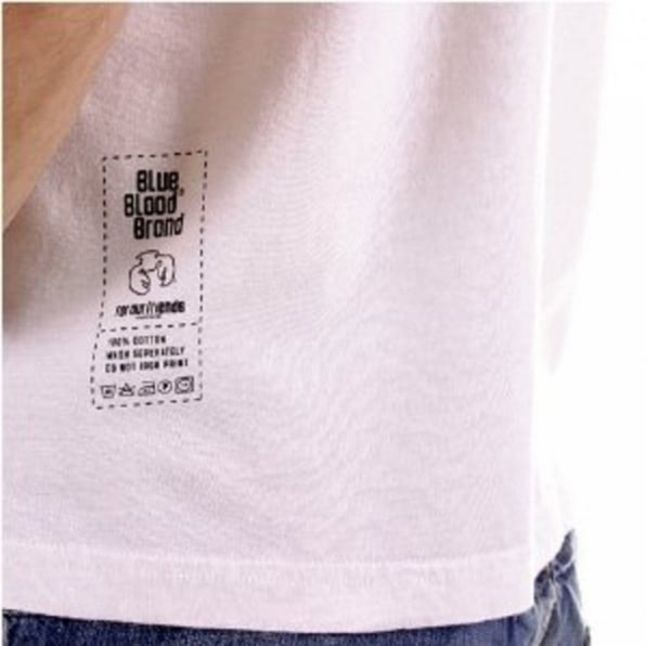 BLUE BLOOD Operation Short Sleeve t shirt