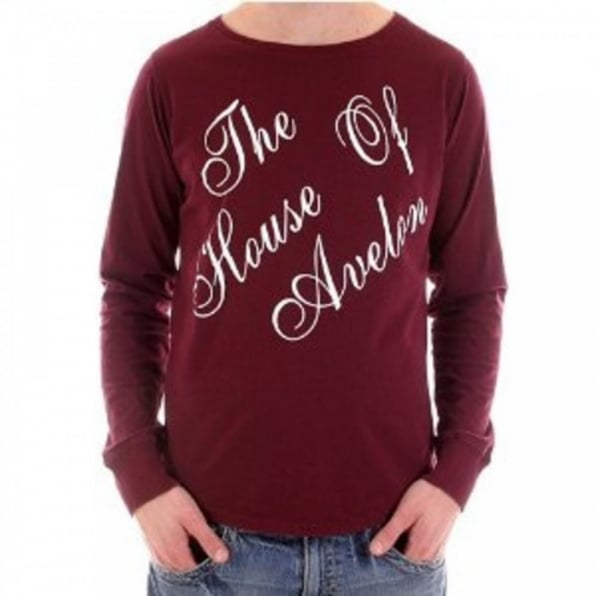 BLUE BLOOD Red Long Sleeve T Shirt