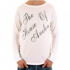 White Long Sleeve T Shirt