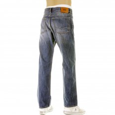 Light Stonewash Regular Comfort Fit Denim Jeans