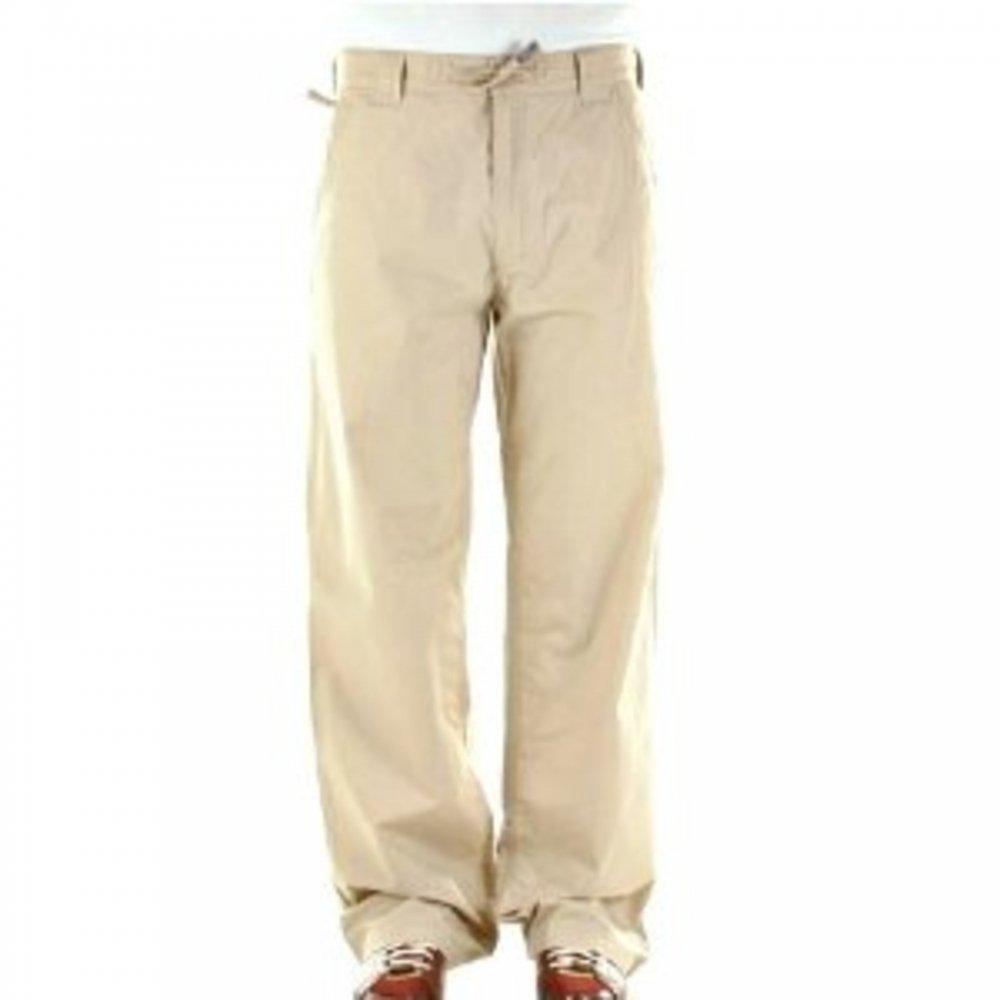 dd243c89d583 ... BURBERRY LONDON Beige Regular Fit Straight Leg Utility Cotton Trousers  ...