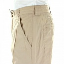 BURBERRY LONDON Beige Regular Fit Straight Leg Utility Cotton Trousers