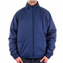 BURBERRY LONDON Regular Fit Two-Way Zipped Blue Jacket