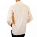 C.P. COMPANY Long Sleeve Washed Peach Coloured Shirt