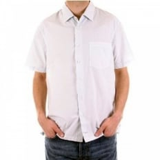 Short Sleeve Pale Blue Shirt