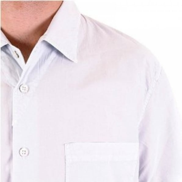 C.P. COMPANY Short Sleeve Pale Blue Shirt