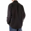 C.P. COMPANY Washed Charcoal Long Sleeve Shirt