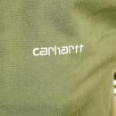 CARHARTT Bog Green and Stone Beige Hooded Regular Fit Robson Jacket