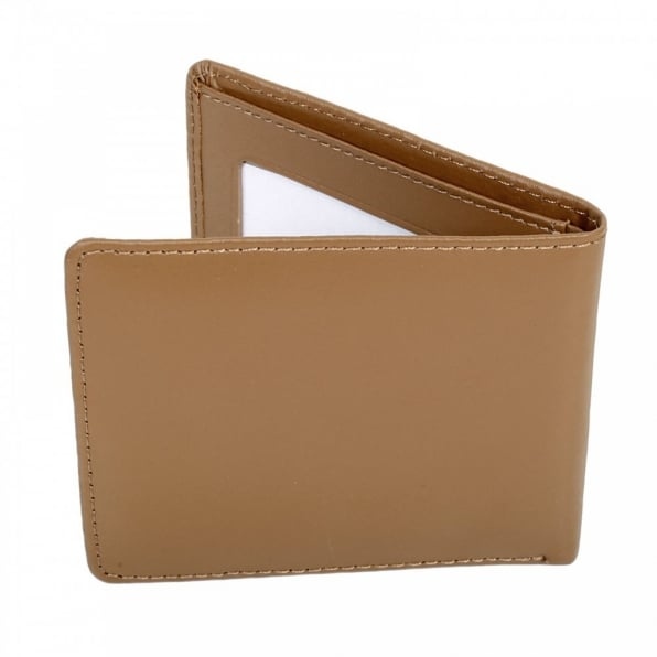 CARHARTT Brown Leather Bill Fold and Credit Card Wallet with ID