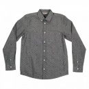 CARHARTT Mens 100% Cotton Slim Fit Long Sleeve Button Down Collar Dove Grey Chambray Shirt