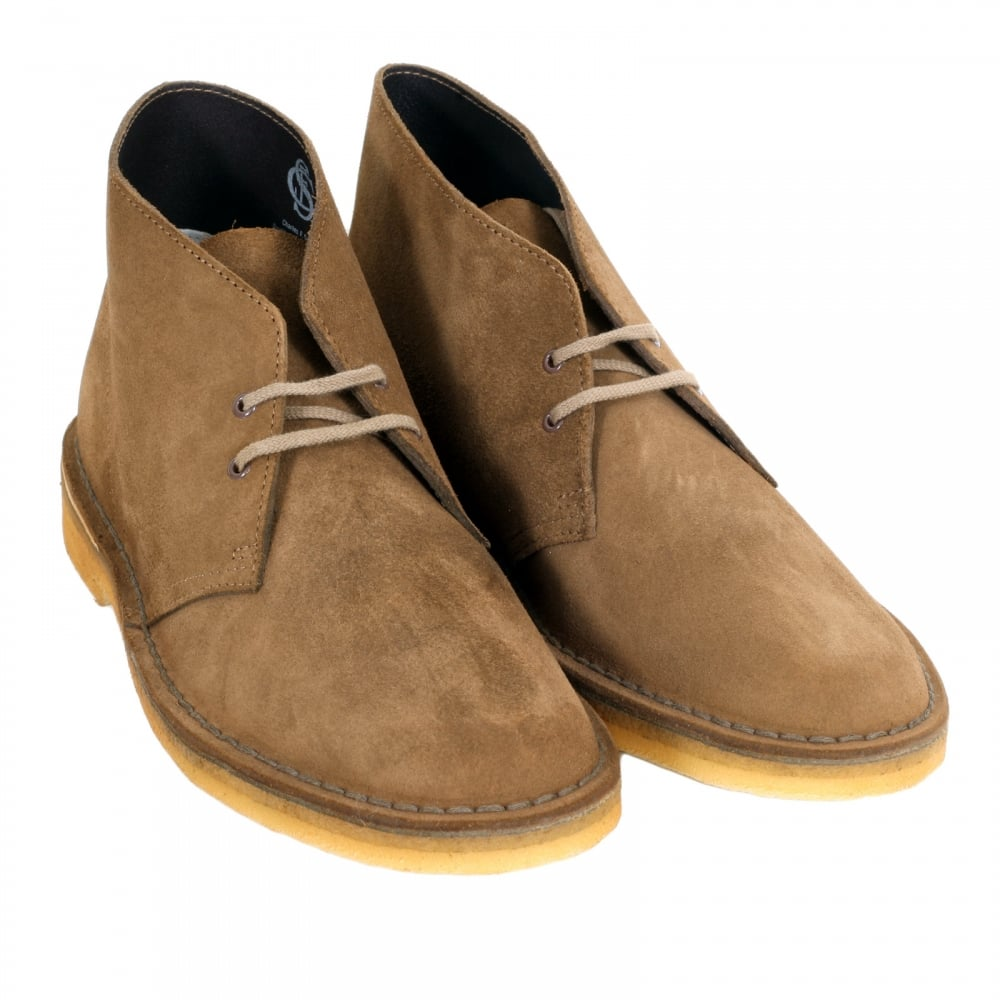 3b00a57d854 Classic Suede Shoes by Clarks Originals in Cola