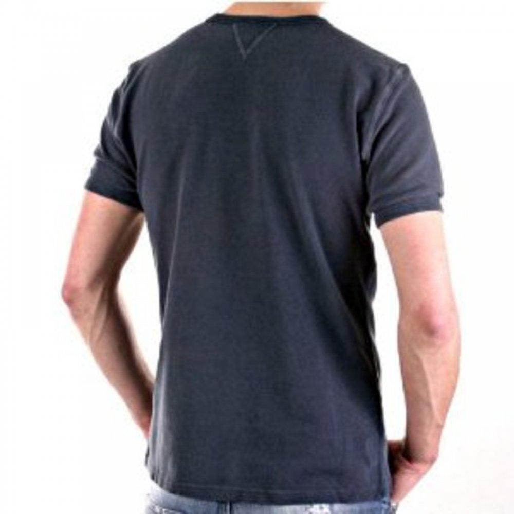 ... D G DOLCE   GABBANA Crew Neck Dark Grey Slim Fit Short Sleeve T-Shirt  ... 5e00d1fb035e